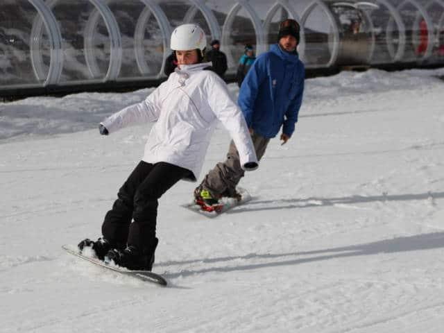 MATHIEU JUSTAFRÉ MONITEUR INDEPENDANT DE SNOWBOARD